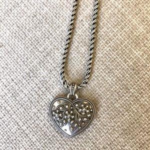 Brighton Reversible Heart Necklace